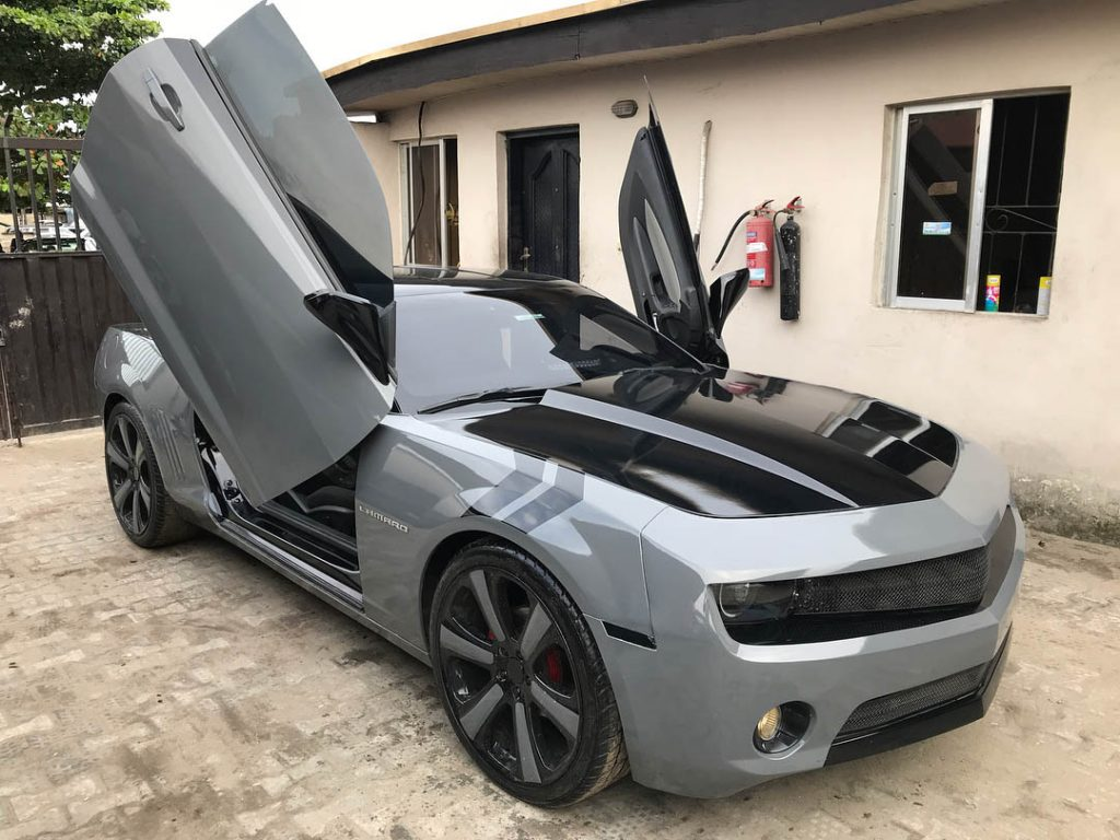 Khaz Customs Car Wrapping Paint Protection Oven Bake